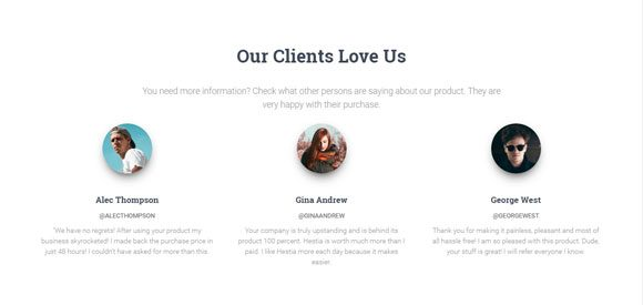 Hestia Clients