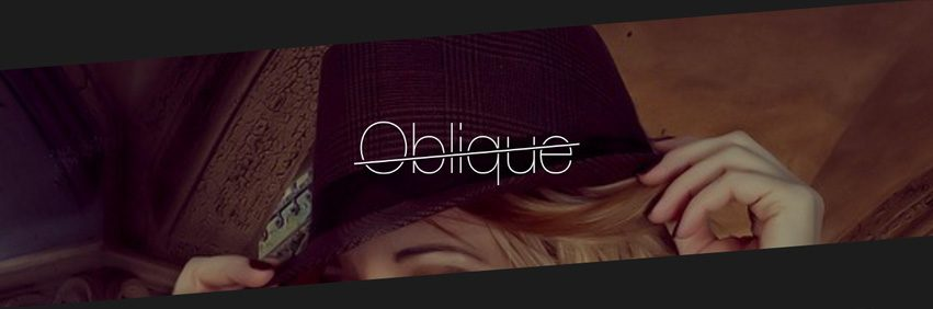 Oblique Header
